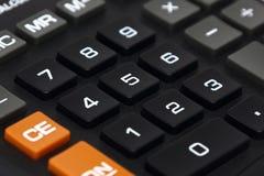 Кнопочная панель калькулятора Стоковая Фотография RF