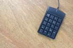 Кнопочная панель номера Стоковое фото RF