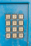 Кнопочная панель телефона Стоковое Изображение RF