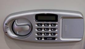 Кнопочная панель шкафчика безопасности Стоковые Изображения RF