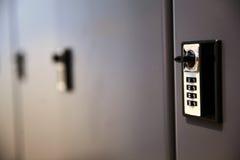 Кнопочная панель шкафчика Стоковое фото RF