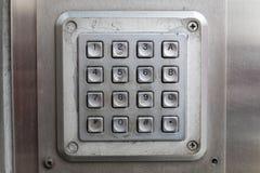 Кнопочная панель стоковые фото