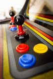 Кнюппель винтажной видеоигры аркады - Монетк-Op Стоковые Фото