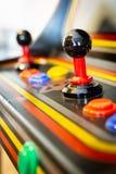 Кнюппель винтажной видеоигры аркады - Монетк-Op Стоковое Фото