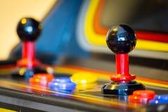 Кнюппель винтажной видеоигры аркады - Монетк-Op Стоковая Фотография RF