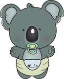 Коала младенца Стоковое Изображение