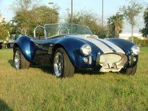 кобра классики автомобиля стоковое фото rf