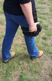 Кобура огнестрельного оружия Стоковое Изображение RF