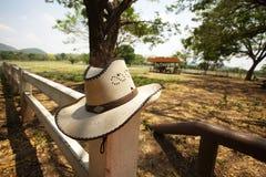 Ковбойская шляпа Стоковое Фото