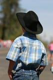 ковбой идя к Стоковое фото RF
