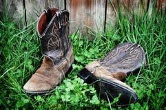 ковбой 12 831 ботинка Стоковые Фото