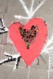 Ковер лепестка и цветка для торжества christi domini сборника Стоковая Фотография