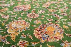 ковер handmade oriental Стоковое Изображение RF