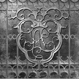 Ковка чугуна квадрата Pontalba Нового Орлеана Джексона Стоковая Фотография