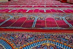 Ковры молитве мечети Стоковое фото RF