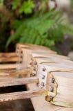 Ковш воды на павильоне очищения (chozuya) Стоковая Фотография RF