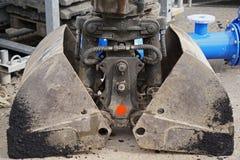 Ковш экскаватора Стоковое Изображение RF