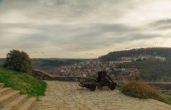 Когда в Veliko Tarnovo в Болгарии стоковая фотография