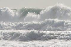 Когда прилив приходит внутри Стоковые Изображения