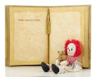 Когда-то тряпичная кукла Стоковая Фотография