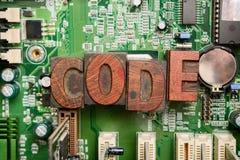 Кодирвоание для компьютерного программирования и превращаться стоковое фото rf