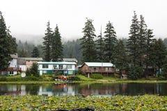 Кодьяк, озеро Lilly, основание гидросамолета, Кодьяк Стоковая Фотография RF