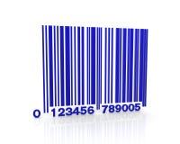 Код сини штанги Стоковые Изображения