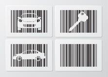 код штриховой маркировки Стоковое Изображение RF
