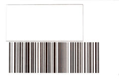 код штриховой маркировки Стоковая Фотография