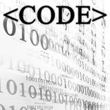 Код Стоковое Фото