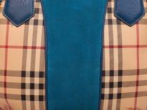 Кожаная женская сумка Стоковые Фотографии RF