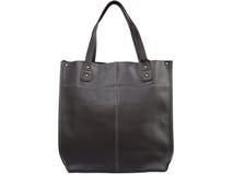 Кожаная женская сумка Стоковое фото RF