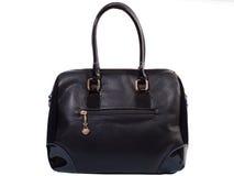 Кожаная женская сумка Стоковая Фотография