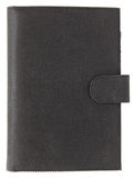 Кожаная книга крышки изолированная на белизне Стоковое Изображение