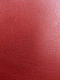 Кожаная красная предпосылка Стоковые Изображения