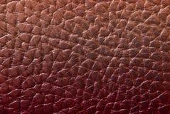 кожаная красная текстура Стоковые Фото