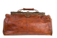 Кожаная сумка/сумка докторов Стоковое фото RF