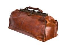 Кожаная сумка/сумка докторов Стоковые Фотографии RF