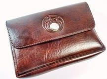 Кожаная сумка камеры Стоковая Фотография RF