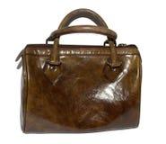 Кожаная сумка повелительниц стоковое изображение rf