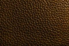 Кожаная текстура в коричневом цвете Стоковое Изображение
