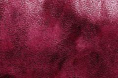 Кожаная текстура в розовом цвете Стоковое Изображение