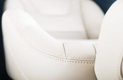 Кожаные автокресла Стоковая Фотография