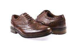 Кожаные ботинки людей Стоковое Изображение RF