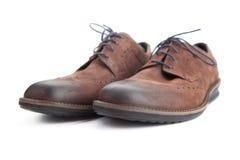 Кожаные ботинки для людей Стоковое Изображение