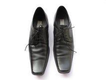 кожаные ботинки Стоковое фото RF