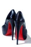 кожаные ботинки стоковые изображения