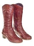 кожаные ботинки стоковые фотографии rf