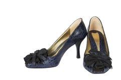 кожаные ботинки Стоковое Изображение RF