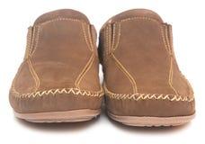 Кожаные ботинки Стоковое Фото